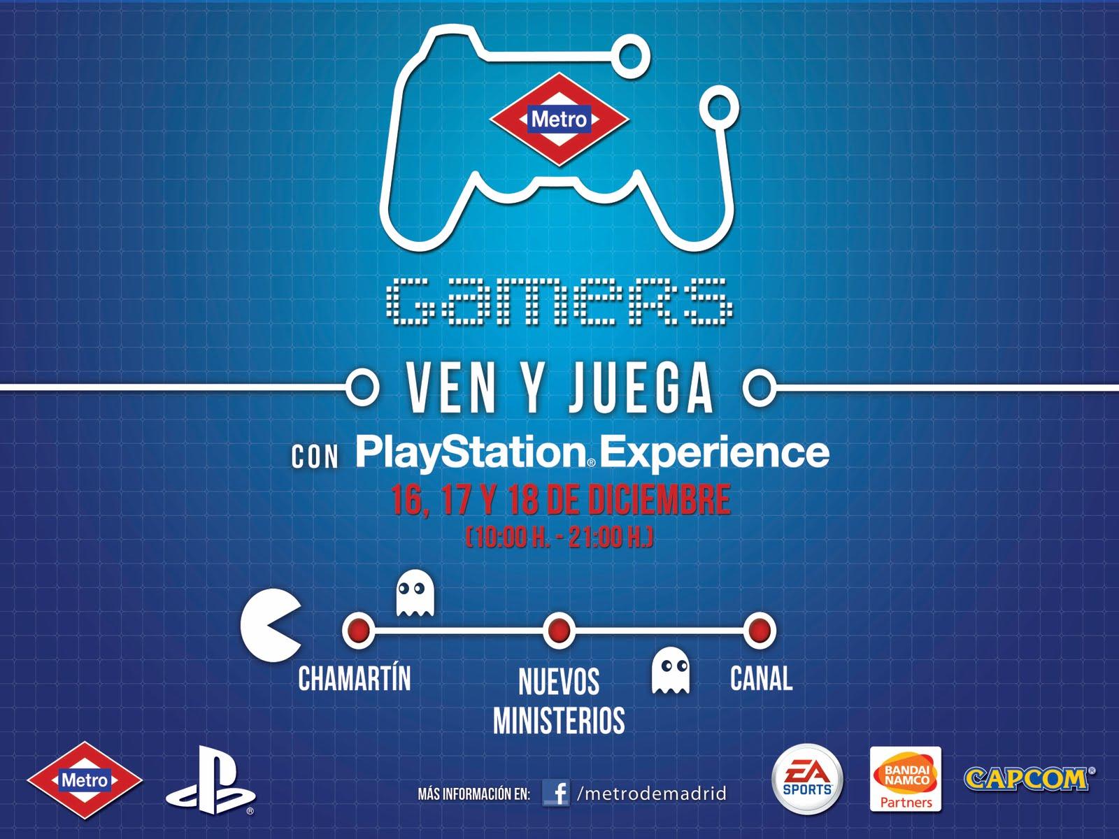 Metro Gamers Este Fin De Semana En Madrid Webvyc ~ Madrid Que Hacer Este Fin De Semana