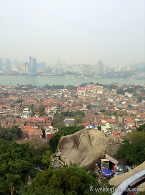 view of xiamen from gulangyu island 2