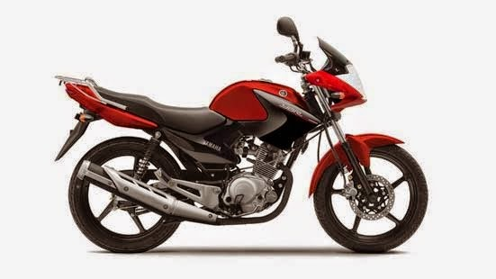 Yamaha YBR125 Red Spirit