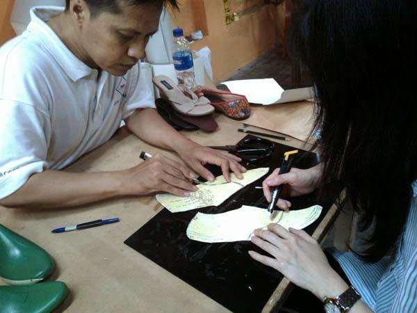 belajar Membuat Pola Sepatu