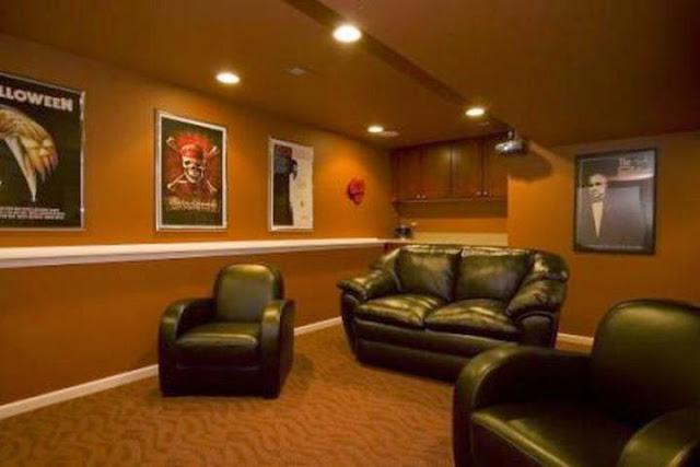 best paint color for a dark basement