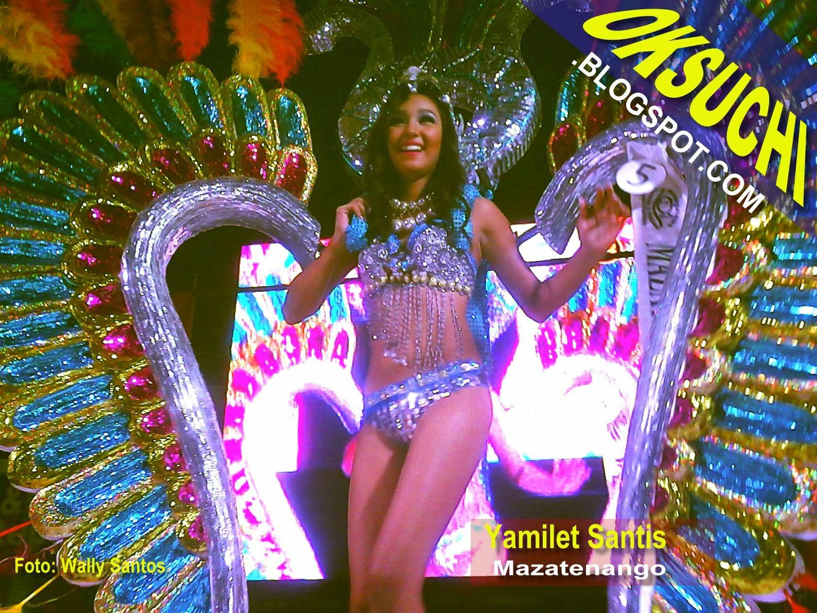 Yamilet Santis, Reina del Carnaval Mazateco 2015