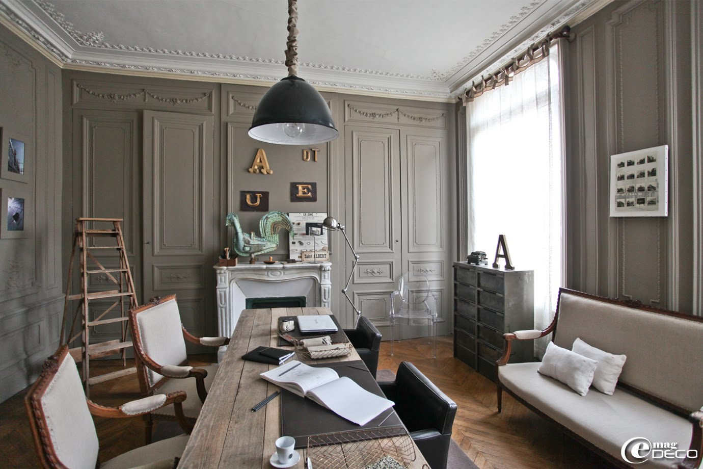 une maison de passionn s pr s de rouen e magdeco magazine de d coration. Black Bedroom Furniture Sets. Home Design Ideas