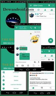 BBM Mod Beta V 2.9 0 apk Theme Evo Green [Clone]