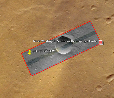 mars crater density used in the relative dating