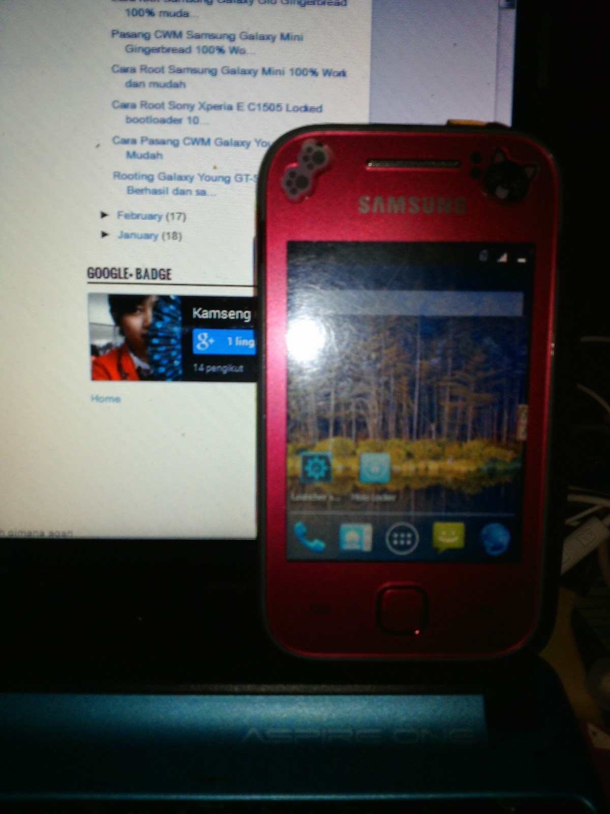 Cara Upgrade Samsung Galaxy Young GT - S5360 ke Kitkat   Sukabumi ...