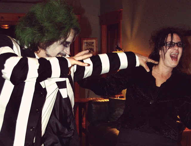 Beetljuice costume