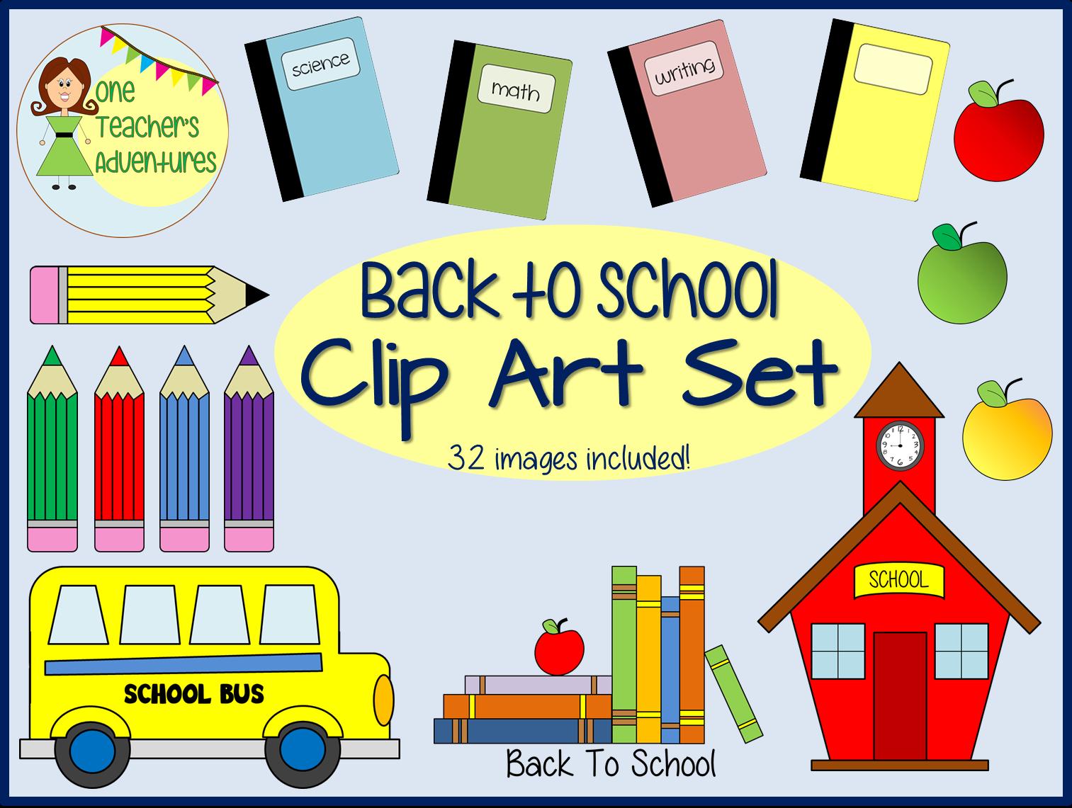 http://www.teacherspayteachers.com/Product/Back-to-School-Clip-Art-1400355