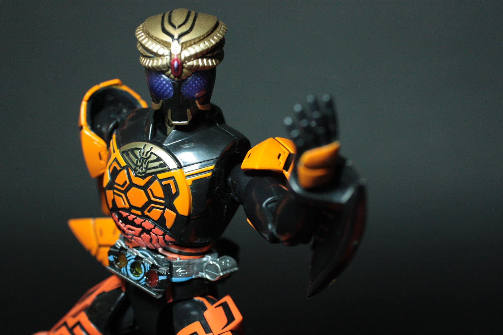 Toy Review  SH Figuarts Kamen Rider OOO Burakawani ComboKamen Rider Ooo Burakawani Logo