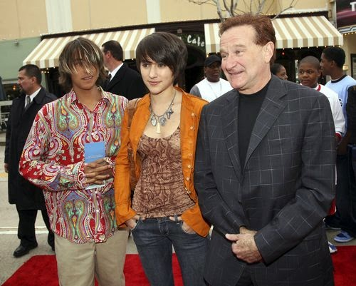 Robin Williams: His wife complains against the children