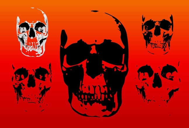 Free Skull Vectors Graphics