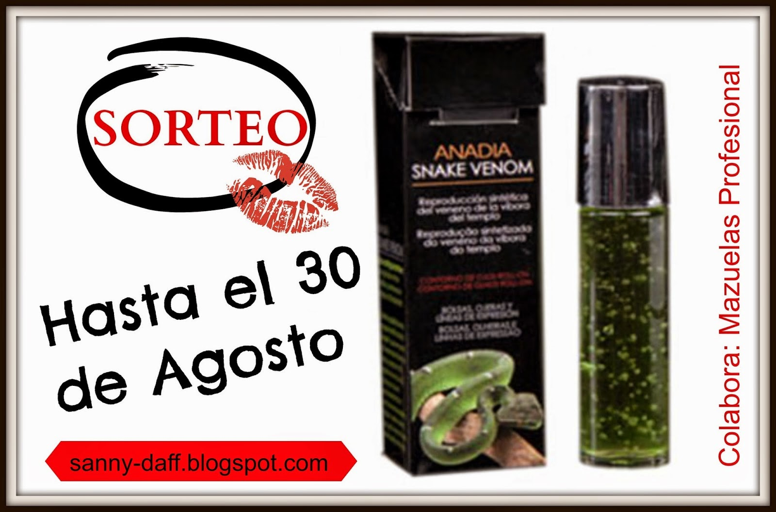 Sorteo en My sweet insanity