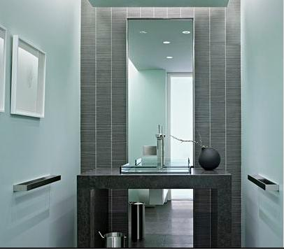 Ba os modernos espejos de ba o - Espejos de banos modernos ...