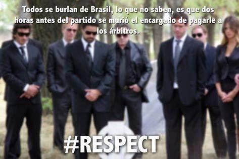 Brasil meme #respect