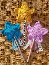 Varitas mágicas a crochet