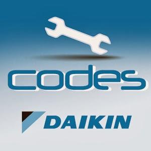 Códigos de errores Daikin Aire Acondicionado