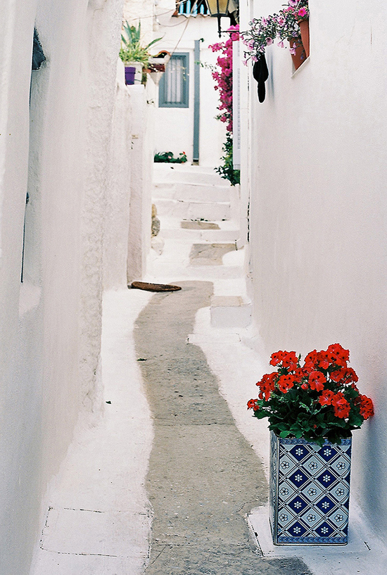 The neighborhood of Anafiotika in Athens. Photo by Cripple Horse