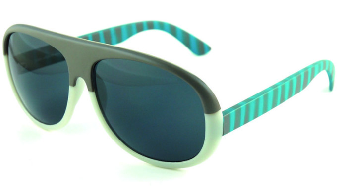 Maek Letloose Stripe sunglasses