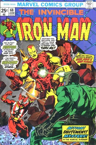 Iron Man #68, Sunfire and the Unicorn