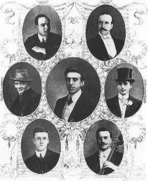 Оркестъра на Титаник.