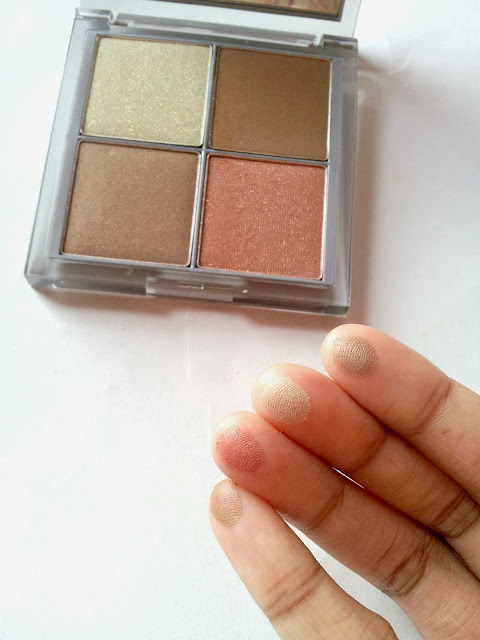 CARGO Colour Eye Shadow Palette Bermuda swatches