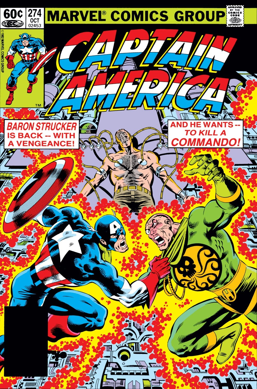 Captain America (1968) Issue #274 #190 - English 1