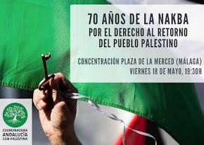 Concentración en apoyo al pueblo palestino masacrado
