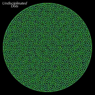 Undisciplinated popping dots illusion