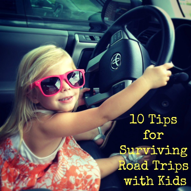 10 Tips for Surviving Road Trips with Kids
