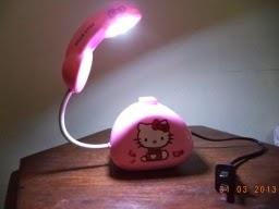 harga lampu belajar lampu pixar hellokiti warna pink merah muda lucu