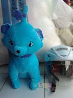 Boneka Marry Cat warna biru