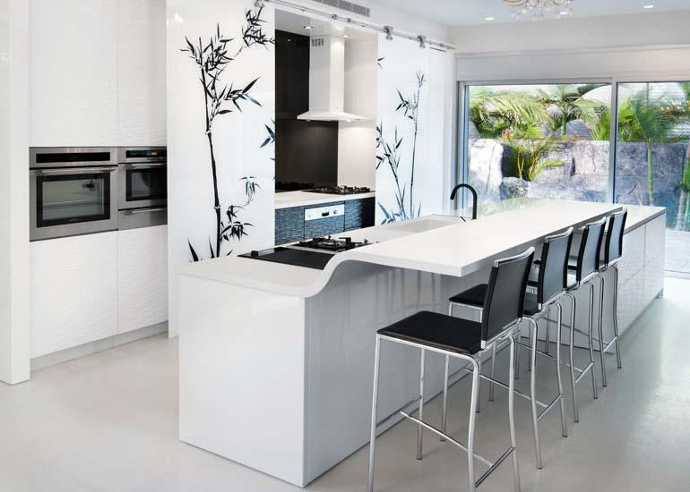 25 unike kjøkken benkeplater - interiør inspirasjon