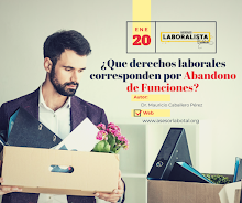¿QUE DERECHOS LABORALES CORRESPONDEN POR ABANDONO DE FUNCIONES? 2020