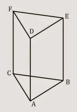 volume dan luas permukaan prisma segitiga