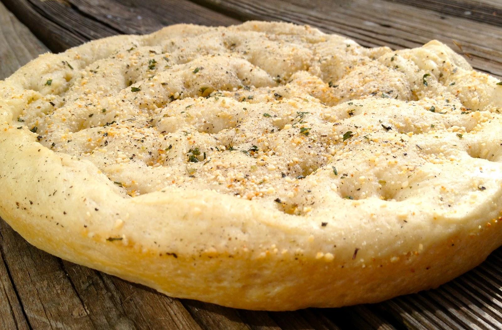 Focaccia Bread | Swirl of Cinnamon