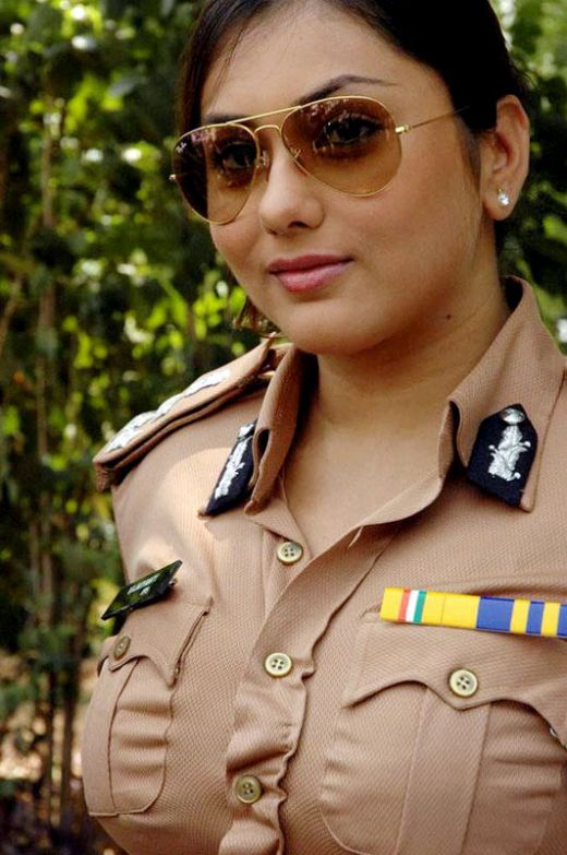 south indian actress namitha hot police uniform dress