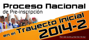 INSCRIPCIONES TRAYECTO INICIAL 2014-2