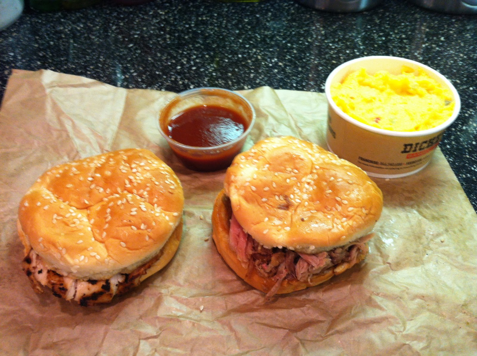Dickey Barbecue Pit BBQ Barbeque Bar-B-Que Sandwich Pork Chicken Dallas