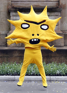 Kingsley, the Partick Thistle mascot