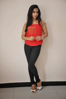 Actress Swathi Deekshith  Pictures in Jeans at Ladies and Gentlemen Movie Success Meet  38.JPG