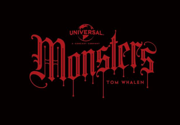 Universal's Classic Monsters by Tom Whalen & Dark Hall Mansion - Undead Monday