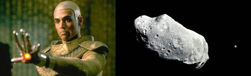 apofis, asteroide, stargate, el zorro con gafas, harry potter, avispa