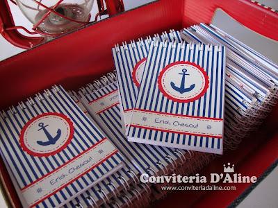 lembrança maternidade marinheiro