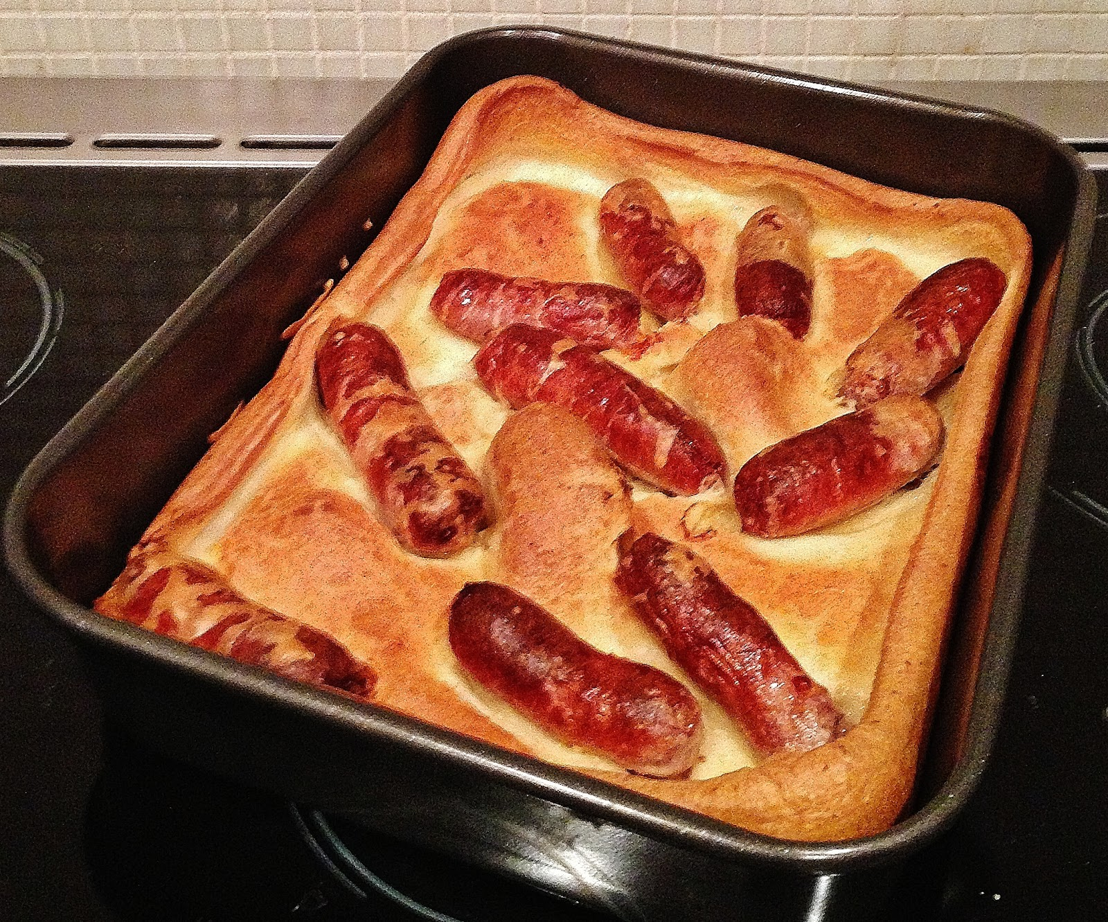 the Best Recipes: Toad in the Hole with Onion Gravy