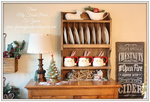French Farmhouse- Christmas- Kitchen - French Country-From My Front Porch To Yours