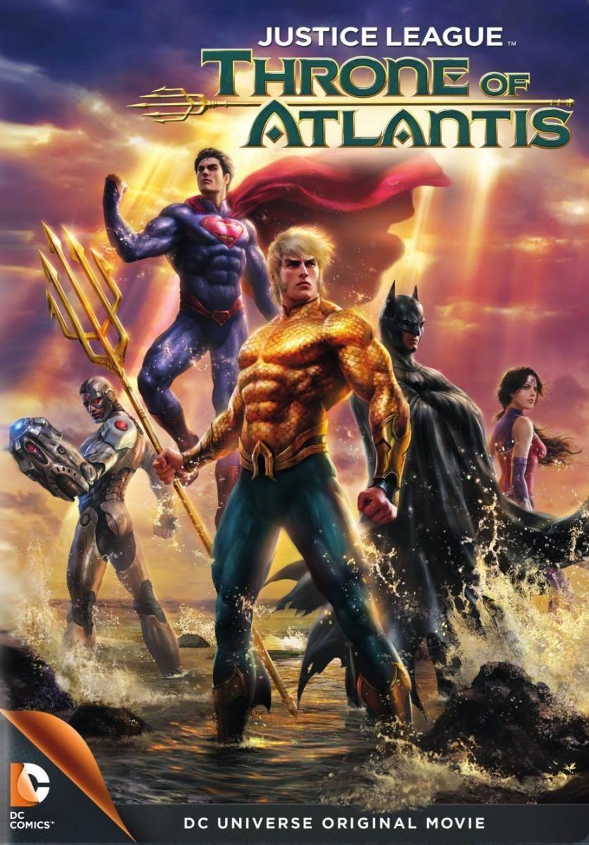 La liga de la justicia: El trono de Atlantis – DVDRIP LATINO