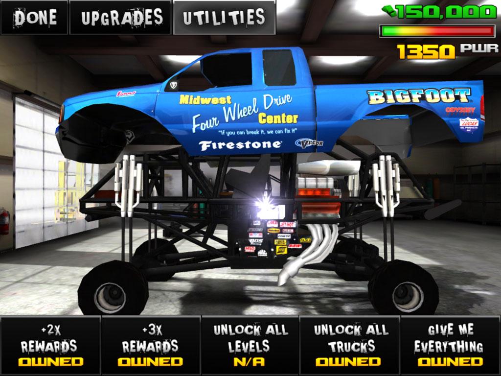 Monster Truck Destruction v1.02 Everything Unlock Hack Free Download