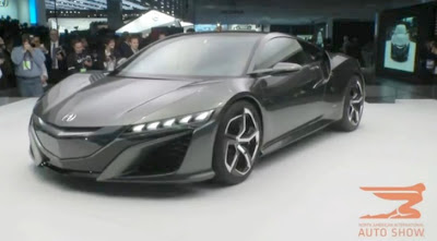 Acura NSX Concept II Revealed in Detroit, Shows Up in Gran Turismo 5 Game