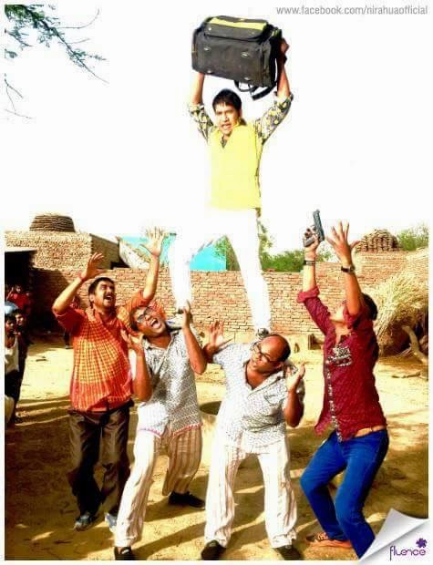 Nirahua Shooting Raja Babu