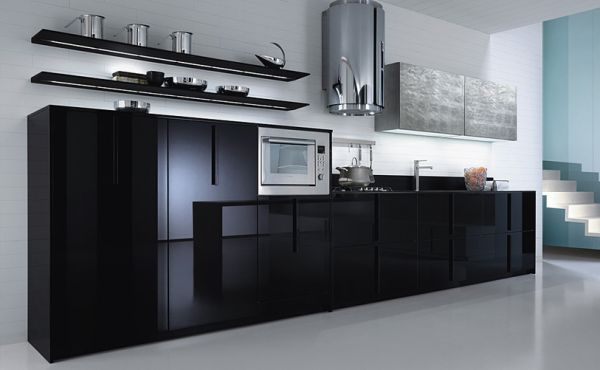 Modern Black Kitchen Cabinets | 600 x 370 · 26 kB · jpeg | 600 x 370 · 26 kB · jpeg